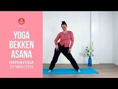 Yoga bekken asana - YouTube Yoga Gym, Qigong, Tai Chi, Asana, Pilates, Fitness Tips, Zen, Mindfulness, Workout