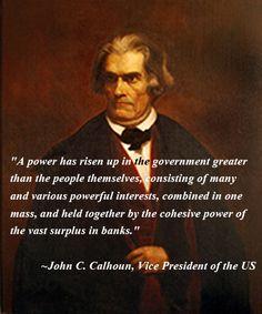 Vice President John C. Calhoun