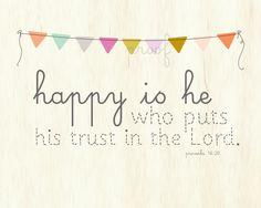 Bible Proverbs 16:20