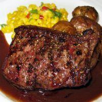 Recept : Burgundská omáčka | ReceptyOnLine.cz - recepty a inspirace Steak, Food, Essen, Steaks, Meals, Yemek, Eten
