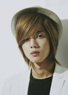 Kim Hyun Joong 김현중 ♡ long hair ♡ hat ♡ perfect beautiful angel ^^ xox ❤ Kpop ♡ Kdrama ❤