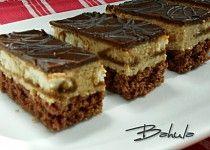 Ořechovo-kávové řezy - My site Slovak Recipes, Czech Recipes, Ethnic Recipes, Desert Recipes, Cake Cookies, Nutella, Tiramisu, Sweet Recipes, Cheesecake