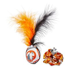 STAR WARS BB-8 Wobble & Mylar Cat Toys