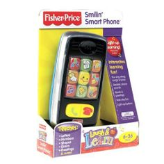 Fisher-Price Laugh & Learn Smiling Smart Phone from #norooni