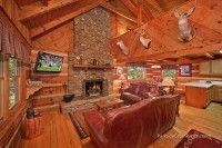 Bear Pause at Parkside Gatlinburg Cabin Rentals - No Pets - Both bedrooms feature king beds and jacuzzi tubs.