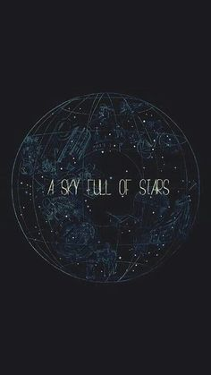 """A Sky Full of Stars"" by Coldplay. ♡                                                                                                                                                                                 Más"