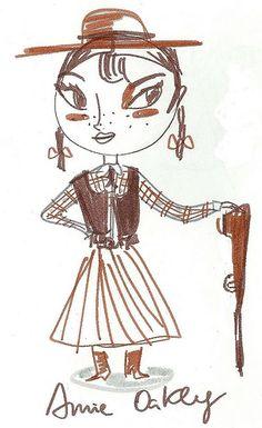 Annie Oakley-cute!!