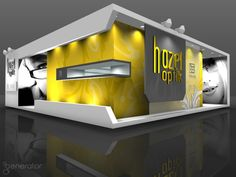 Eye-catching design #exhibitionstand #exhibitdisplay
