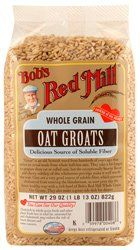 Bobs Red Mill  Whole Grain Oat Groats Delicious Source of Fiber 29 Ounces *** More info could be found at the image url.(This is an Amazon affiliate link and I receive a commission for the sales)