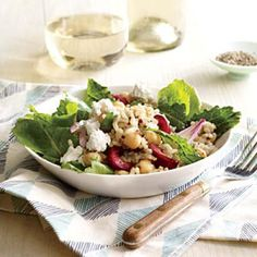 Clean Eating Lunch Recipes: Kale, Quinoa, and Cherry Salad | CookingLight.com