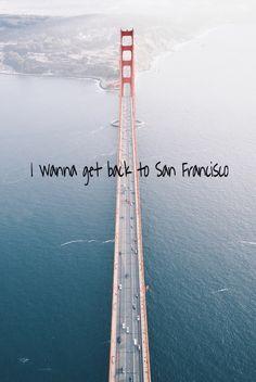 I wanna get back to San Francisco #sanfrancisco #sf