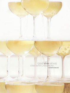 Great love affairs start with champagne! - Honoré de Balzac  Happy Champagne Friday!