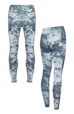 Primark - Fitness-legging met waterprint