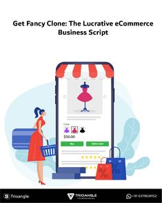 Enter the eCommerce game equipped with the Best Fancy Clone Script in the Industry. #Trioangle #EcommerceWebsiteDevelopment #EcommerceSoftware #OnlineShoppingSoftware #FancyClone #EcommerceScript #amazonclone #flipkartclone Ecommerce Software, Script, Family Guy, Fancy, Good Things, Technology, Game, Business, Tech