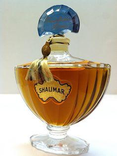 Shalimar vintage bottle