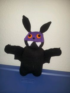 sock bat  stuffed animal