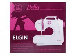 Máquina de Costura Elgin - Bella BL12000 Portátil com as melhores condições você encontra no Magazine Luisacesar. Confira!