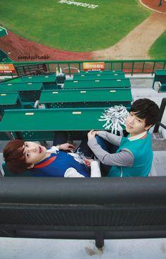 Super Junior Experience Korea Kyuhyun and Yesung