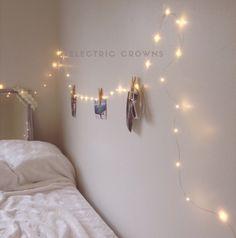 Bedroom Fairy Lights Nights Lights Hanging Indoor String Lights - Girls bedroom fairy lights