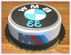 BMW Kuchen – gâteau d'anniversaire - Kuchen Birthday Cakes For Men, Birthday Cake For Boyfriend, New Birthday Cake, Cakes For Boys, Fruit Birthday, 17th Birthday, Fondant Cakes, Cupcake Cakes, Cupcakes