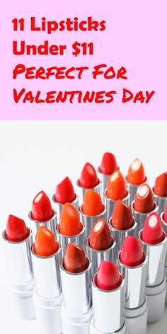Red is considered to be a symbol of love. So if you prefer to wear any shade of red on Valentine's day, then keep reading this post as we are going to tell you about lipsticks perfect for Valentine's day. These are some impressive shades of red under $11. #redlipstick #redlips #makeup #lipstick #beauty #red #lips #lipstickaddict #fashion #love #lipsticklover #lipsticks #mattelipstick #liquidlipstick #cosmetics #lipgloss #glamour #redlip #valentinesday #happyvalentinesday Matte Lipstick, Red Lipsticks, Makeup Lipstick, Liquid Lipstick, Online Blog, Love Symbols, Shades Of Red, Happy Valentines Day, Lip Gloss
