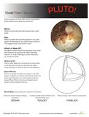 Here's a great way to teach your kids more about our solar system. This worksheet focuses on the dwarf planet, Pluto.