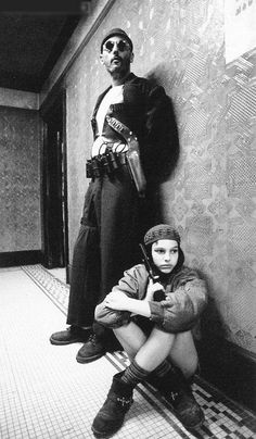 Jean Reno and Natalie Portman in 'The Professional'