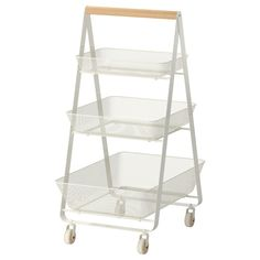 53 Ikea Products Almost As Good As The Meatballs #refinery29  http://www.refinery29.com/ikea-furniture#slide-17  Indoor, outdoor, mobile storage space. Ikea Risatorp Utility Cart, $59.99, available at Ikea....