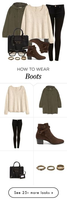 """Style #9790"" by vany-alvarado on Polyvore featuring Topshop, Yves Saint Laurent, H&M, Balenciaga, Forever 21, women's clothing, women, female, woman and misses"