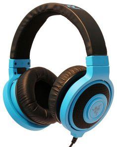 RAZER KRAKEN NEON BLUE Gaming and Music Headphone ** OZ STOCK** F 76
