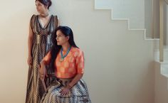 Celebrity Stylist Aastha Sharma & Ace Photographer Sheena Sippy in Warp 'n Weft Real Women in Weave Campaign Real Women, Color Trends, Weave, Stylists, Campaign, Cover Up, Sari, Celebrity, Colours