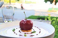 Dessert at restaurant Château d'Ouchy - Lausanne Lausanne, Lake Geneva, Restaurant, Desserts, Food, Tailgate Desserts, Deserts, Diner Restaurant, Essen