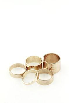 Mika y Keller Juego de anillo cobre, Laura