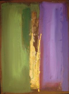 Mark Rothko, Fine Art Print  Olive, Purple, Gold, Yellow, Red-Brown, Violet. N.B. Purple and Violet sit at opposite ends of the visible color spectrum.