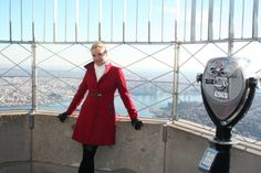 "November 25, 2013: Golden Globe nominated actress Nicollette Sheridan got into the Christmas spirit by visiting our 86th floor Observatory this afternoon. She stars in the @Hallmark Channel's original movie ""The Christmas Spirit,"" which airs this Sunday, December 1. #CountdownToChristmas"