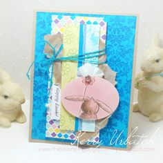 Bloomin' Bunny by kerbear - Cards and Paper Crafts at Splitcoaststampers
