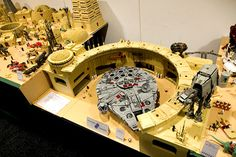 lego star wars funny | ... Star Wars space port recreated in LEGO pieces. Lots more pictures