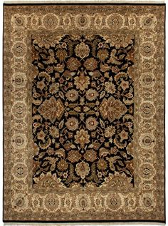 This Atlantis Taj Collection rug (AL13) is manufactured by Jaipur. Most popular collection by Jaipur, Atlantis, merges traditional patterns with sophisticated and distinctive color stories rooted in blue, brown, ebony, gold, and red.