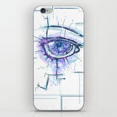Introspection Process - Right Eye iPhone & iPod Skin