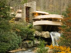 Flood Causes Damage at Frank Lloyd Wright's Fallingwater