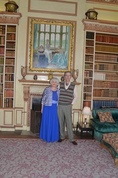 #1930s House Party #LadyBaillie #Library #Castle