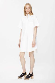 Cuffed shirt dress COS