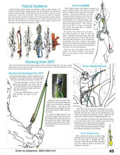Single Rope Technique Hybrid Systems & Equipment from WesSpur Tree Equipment Arborist Catalog Climbing Rope, Ice Climbing, Indoor Climbing, Tree Climbing Equipment, Climbing Technique, Survival Knots, Tree Felling, Scouts, Tree Care