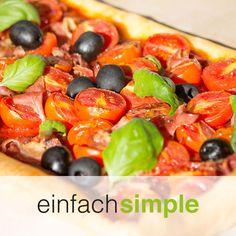 Tomatentarte www.einfach-simple.at Fruit Salad, Cooking, Food, Simple, Cuisine, Kitchen, Meal, Eten, Fruit Salads