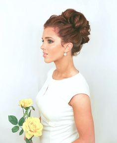 Curly Bun #Beauty #Trusper #Tip