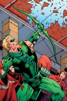 Green Arrow - Todd Nauck, Marlo Alquiza, & Alex Sinclair
