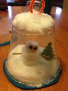 Holiday homemade ornament