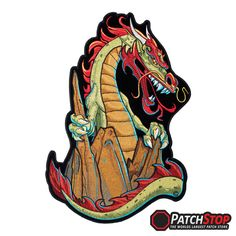 Lion and Horse Patch 18*27cm Jacket Patches BIKER EMBROIDERIED DIY