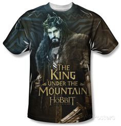 The Hobbit: The Battle of the Five Armies - King T-Shirt at AllPosters.com