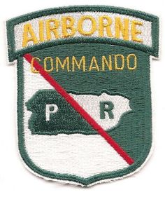 65TH INFANTRY COMMANDO PATCH